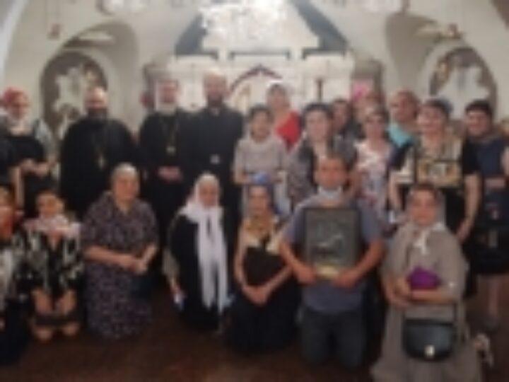 Паломники из Грузии посетили храмы и монастыри Украинской Православной Церкви