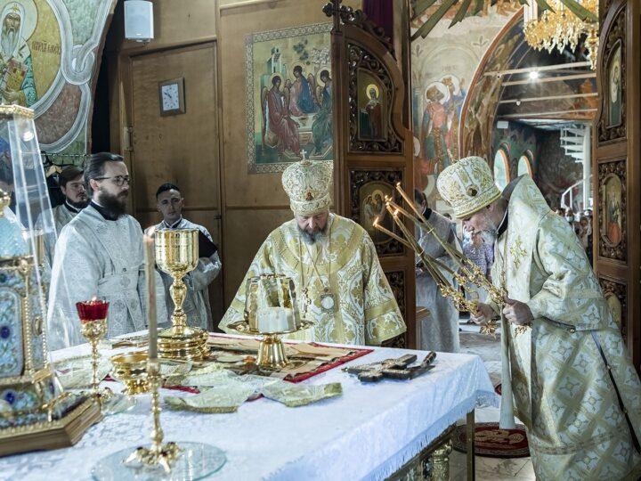 19 августа 2021 г. Престольный праздник Спасо-Преображенского собора в Новокузнецке