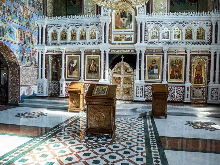 26 августа 2021 г. Посещение строящегося храма Архангела Михаила в деревне Сухово