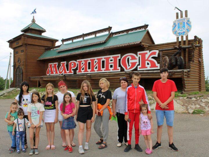 «Мы вместе»: прокопьевские семьи посетили с экскурсией Мариинск