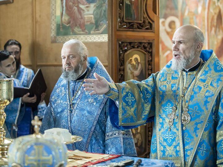 1 сентября 2021 г. День хиротонии епископа Новокузнецкого и Таштагольского Владимира