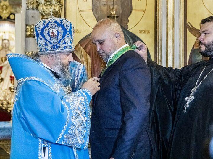 В праздник Рождества Богородицы митрополит поздравил губернатора Кузбасса с 60-летием