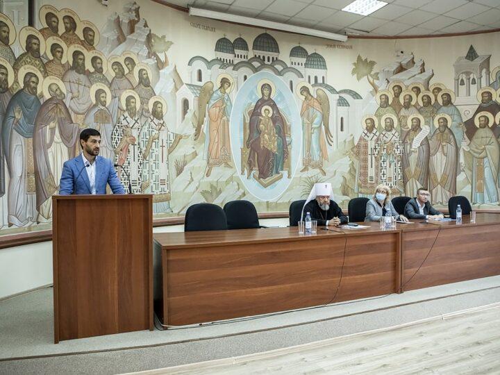 2 сентября 2021 г. Встреча духовенства епархии с представителями Совета Федерации и Правительства Кузбасса