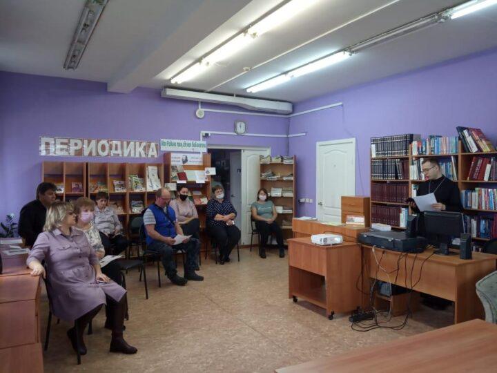 «Кто такие свидетели Иеговы?»: в Крапивинском прошла встреча священника с жителями
