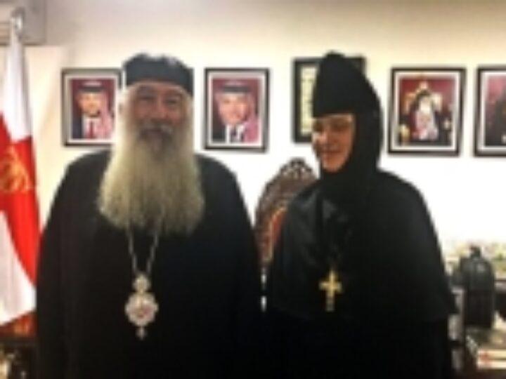 Настоятельница Горненского монастыря в Эйн-Кареме посетила Иорданию