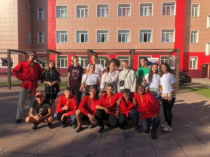 Православная молодёжь Междуреченска приняла участие в городском фестивале