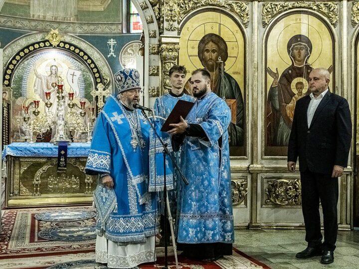 Приветствие Святейшего Патриарха Кирилла по случаю жизненного юбилея губернатора Кемеровской области С. Е. Цивилёва