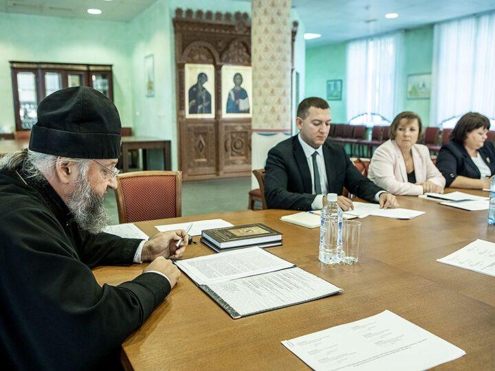 3 сентября 2021 г. Встреча главы Кузбасской митрополии с ректорами вузов областной столицы