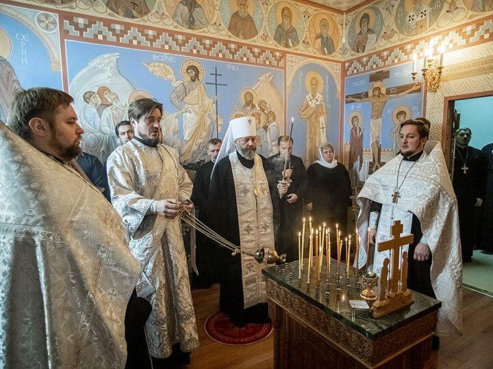 28 сентября 2021 г. Заупокойная лития в годовщину смерти протоиерея Иоанна Хитя