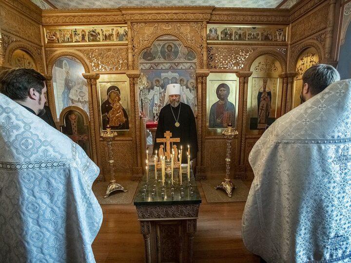Митрополит Аристарх возглавил поминовение почившего клирика епархии