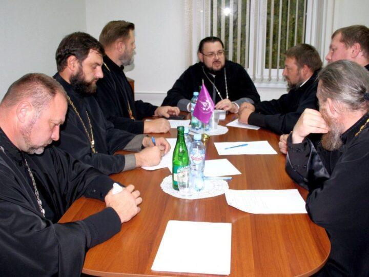 В Мариинской епархии состоялся Епархиальный совет