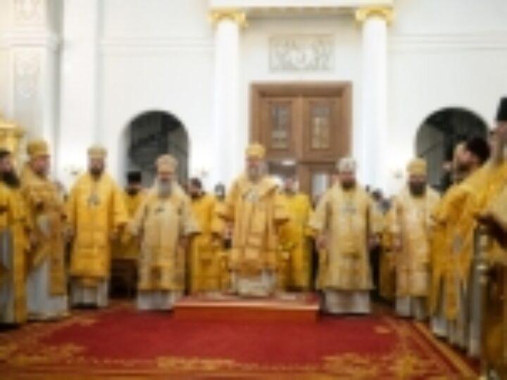 В столице Татарстана впервые совершена служба Собору Казанских святых