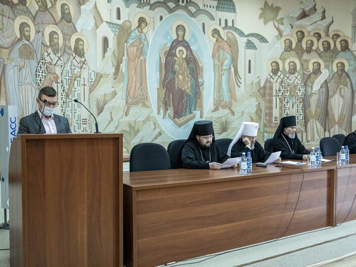 21 октября 2021 г. Архиерейский совет Кузбасской митрополии