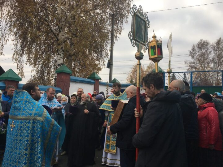 Покровский храм Прокопьевска отметил свой престольный праздник