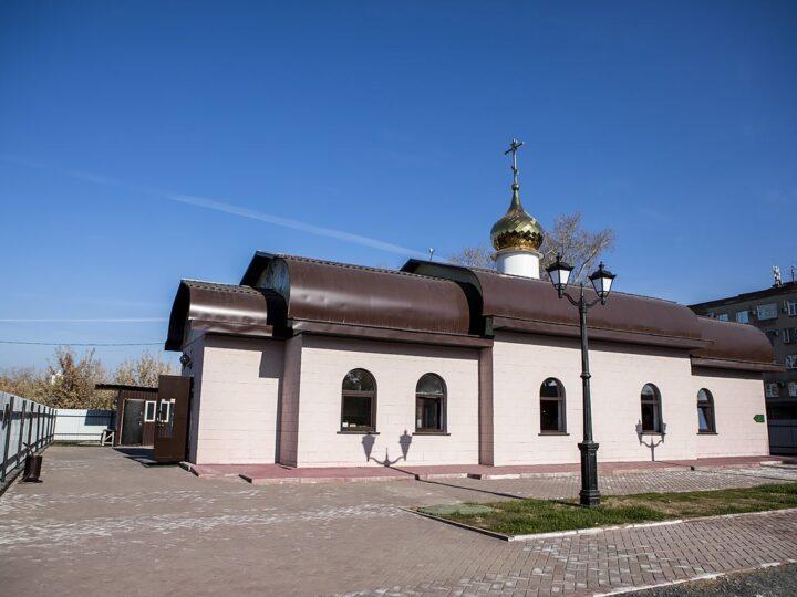 17 октября 2021 г. Освящение Покровского храма в Кемерове