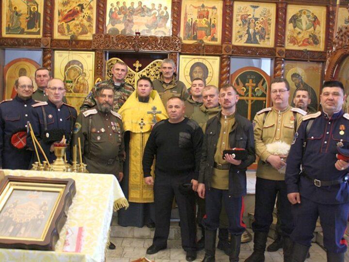 Новокузнецкий священник встретился с атаманами и казаками Регионального отделения СКВРиЗ